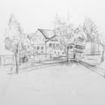 Zeichnung Wuhrplatz
